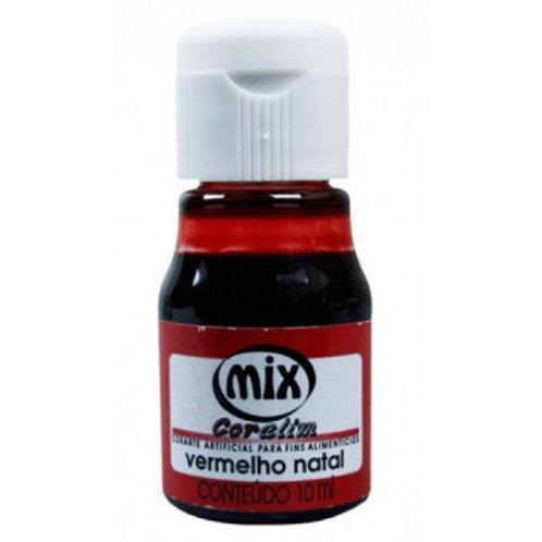 Corante Vermelho Natal Mix 10ml- 150024