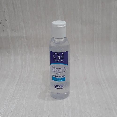 Gel 70° Higienizador Hidratante 60g - 060503