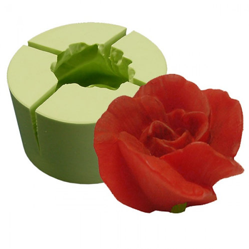 Forma de silicone Flor de Azaleia - 164300