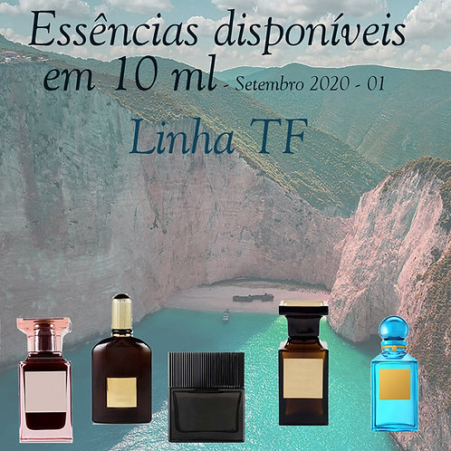 Essencias disponiveis em 10ml