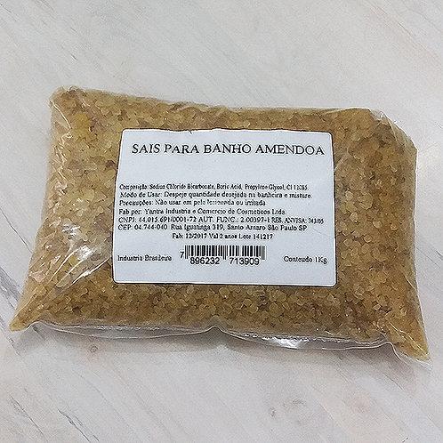 Sal para Banho Grosso Perfumado Amendoas (1Kg)- 060091