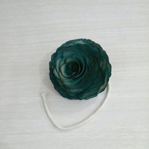 Flor de Madeira G c/ Pavio- 050157
