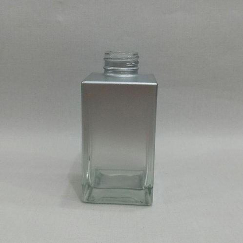 Frasco Mini Square degradê Prata. 140 ml 020557 R28