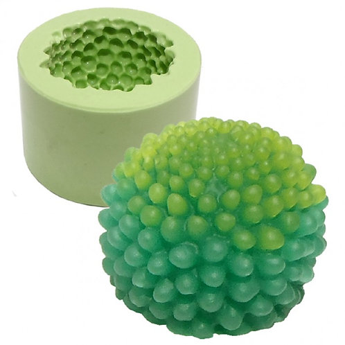 Forma de silicone Cactus Bolinhas 160112