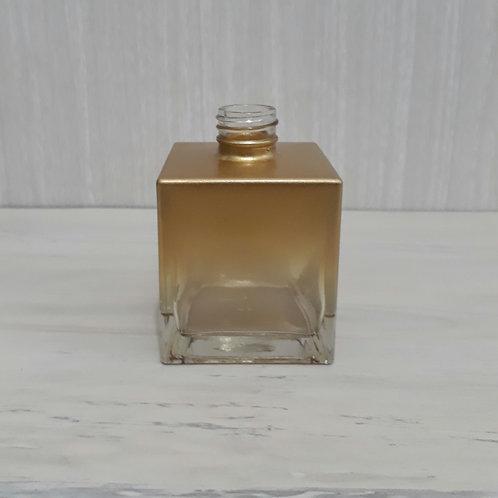 Frasco Sab. Cubo Degradee Dourado 250 ml- 020386