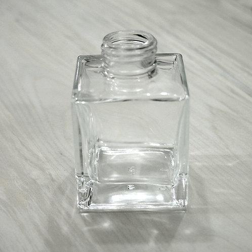 Frasco de Vidro Mini Cubo Transparente 100 ml R28/410 022985