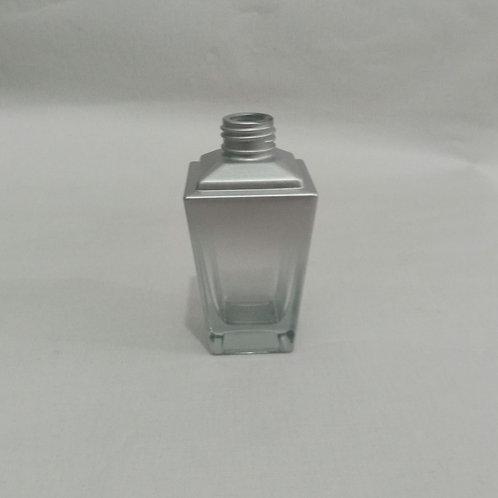 Frasco de Vidro para Perfume Trapezio Degradee Prata  R24-  022996
