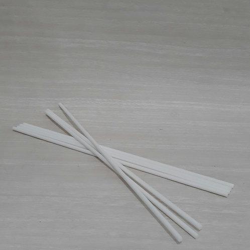 Vareta Fibra Branca Grossa 25 cm-  210210