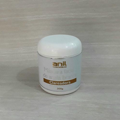 Máscara facial Argila Branca - Clareadora  300g