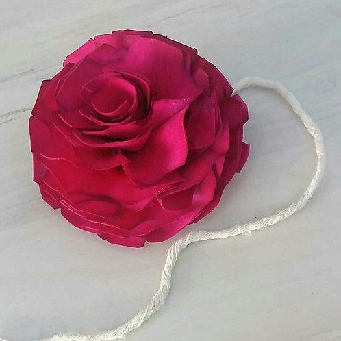 Flor de Madeira com pavio P 050508
