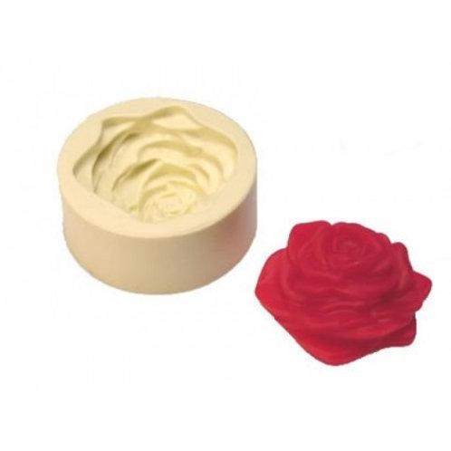 Forma de silicone Rosa Aberta 163791