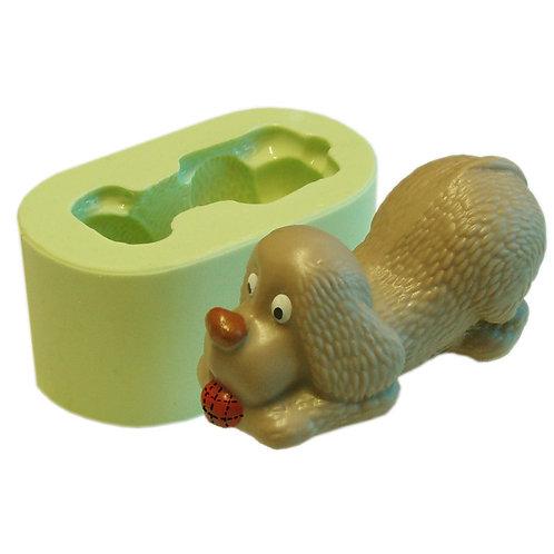 Forma de silicone Cãozinho Brincando  (1 cav.) 166070