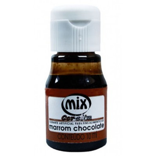 Corante Marrom Chocolate Mix 10ml - 150009