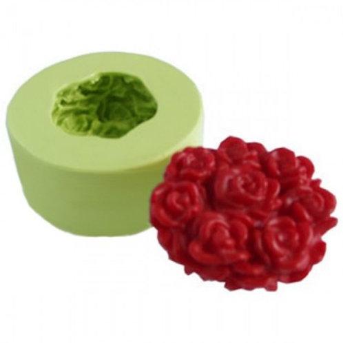 Forma de silicone Arranjo de Rosas 165345
