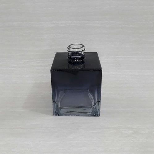 Frasco Saboneteira Cubo Preto/Azulado (250ml)- 023494