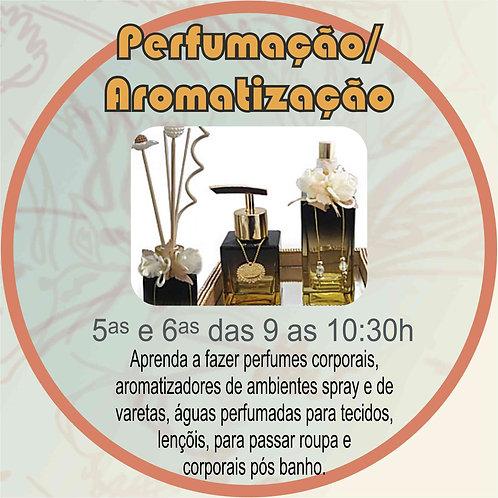 Curso Artesanal / Aula demonstrativa de Perfumação / Aromatização