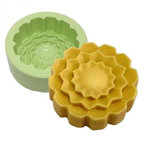 Forma de siliconeFlor Mandala - 161120