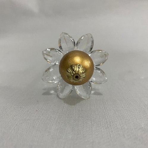 Vareta Flor Mistica Dourada - 210067