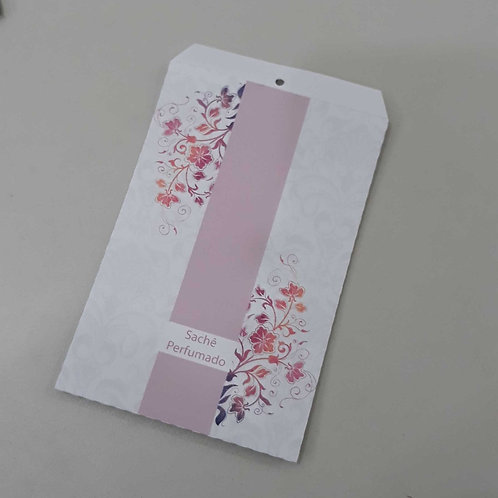 Sachet de papel floral 050154 fl