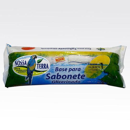 Base Sabonete Glicer. Branca Nossa Terra 1Kg 060048