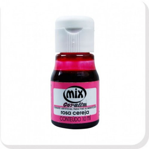 Corante Rosa Cereja Mix 10ml