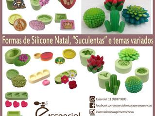 Formas de silicone - conheça nossa variedade!