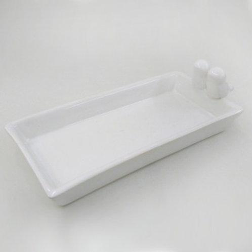 Bandeja de Ceramica Passarinhos- 040062