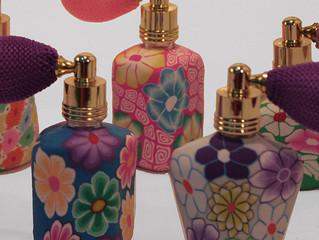Novos frascos borrifadores. Muito charme para seus perfumes!