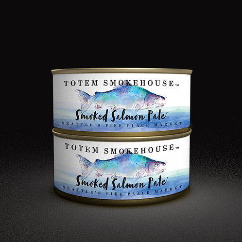 2-5.50 oz Smoked Salmon Pate'