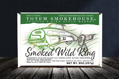 8 oz Smoked Wild King Salmon Fillet Gift Box