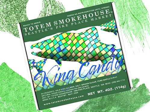 4 oz King Salmon Candy Gift Box