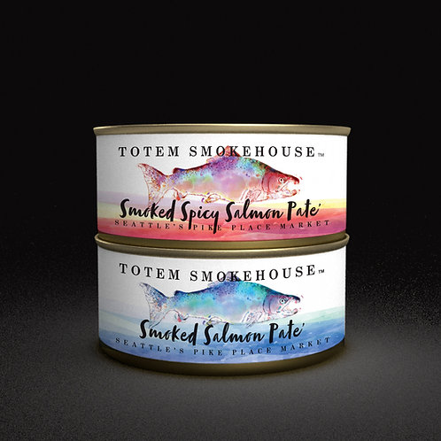 2-5.50 oz Smoked Salmon Pate' Flavor Combination