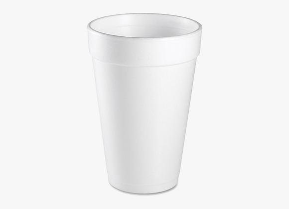 Styrofoam Cup Hole