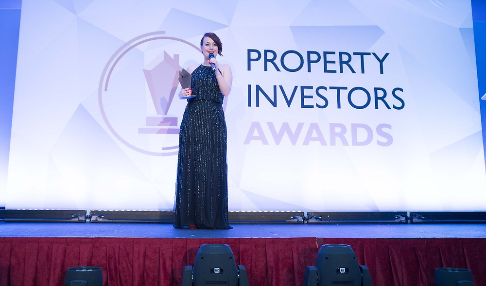Nellie McQuinn - Property Investors Awards Acceptance