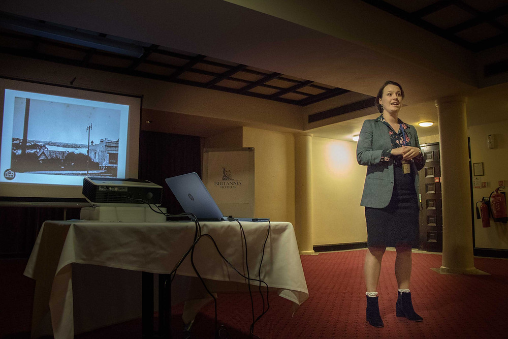 Nellie McQuinn Public Speaking at Crawley Property Meet