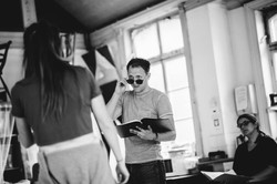 'The Taming Of The Shrew' Rehearsals