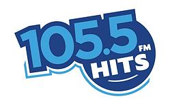 105.5 Hits FM Logo white 1920.png