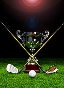 Golf Trophy Boomerang Effect