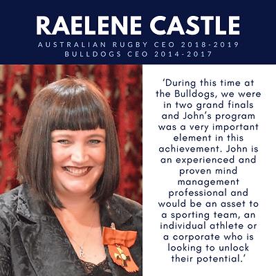 Raelene Castle Boomerang Effect