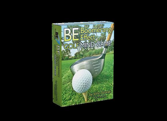 Boomerang Effect: Golf Mind Game (Hardcopy Card Deck)