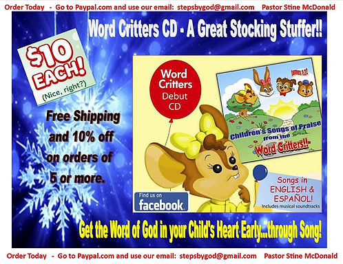 WordCritters CD