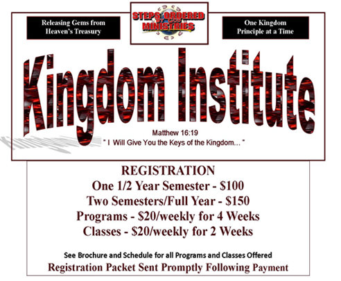Kingdom Institute Two Semesters