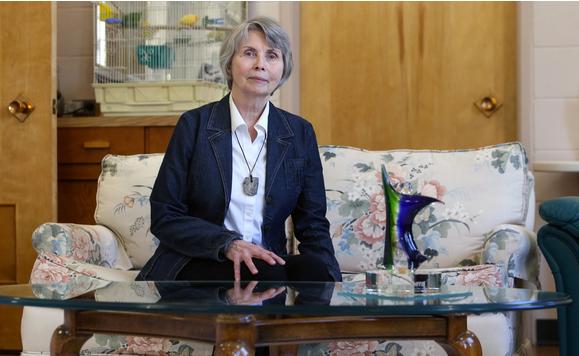 Sister Lesley Sacouman, executive direct