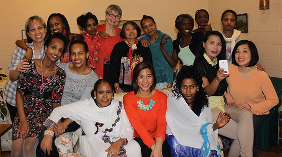 Holy Names House of Peace group of newcomer women
