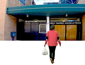 Holy Names House of Peace front entrance