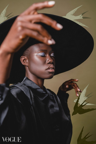 Aminata Sanogo for Vogue Italia
