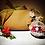 Thumbnail: Pochette in Ecotessuto Marrone