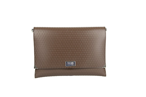 Borsa Tracolla Clutch Basic Brown
