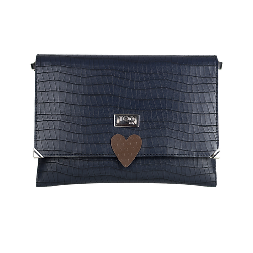 Clutch con Tracolla Navy