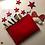 Thumbnail: Pochette in Ecotessuto Rossa